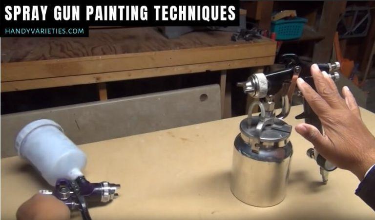 Spray Gun Painting Techniques