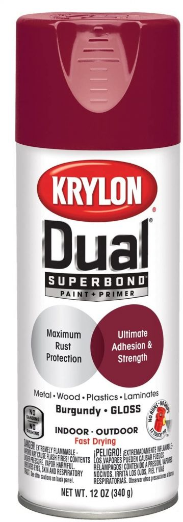 Krylon 'Dual' Superbond Paint