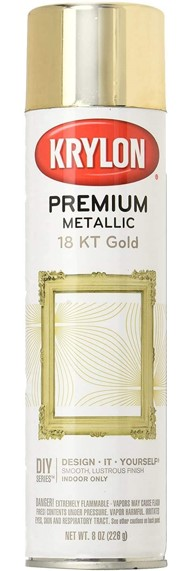 Krylon Premium Metallic Paint