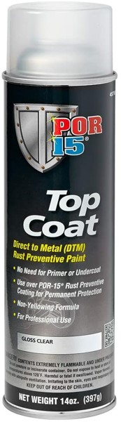 POR-15 45718 Top Coat