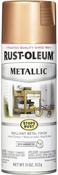 Rust-Oleum Rose Gold Paint