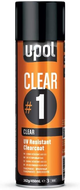 U-Pol Products 0796 Clear High Gloss Coat