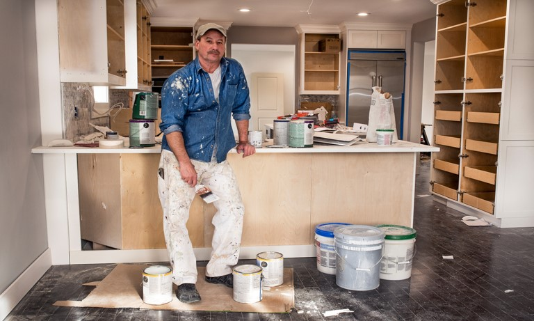 Can You Use Exterior Paint on Kitchen Cabinets